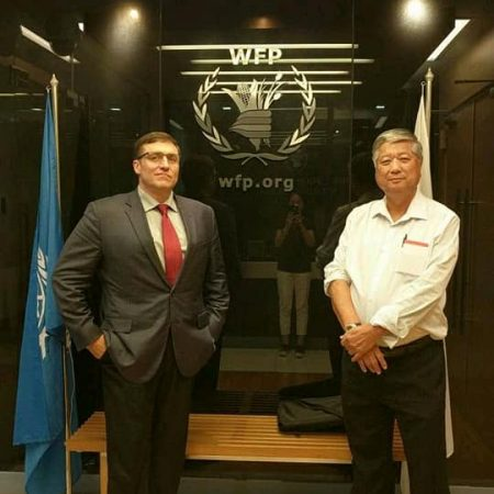 Potter Technology Chief Operating Officer CEO and Chief Innovator Jeffrey Potter at United Nations UN World Food Program WFP Asia Disaster Response Meeting