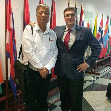 Potter Technology Chief Operating Officer CEO and Chief Innovator Jeffrey Potter at Asia Disaster Response Meeting